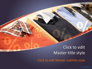 Free Clothing PPT Template