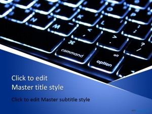 Free Computer Keyboard PPT Template