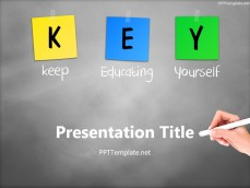 free academic ppt templates  ppt template, Powerpoint