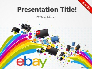 Free eBay With Logo PPT Template