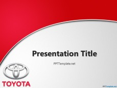 20038-toyota-with-logo-ppt-template-1