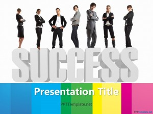 Free Corporate Success PPT Template
